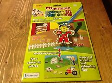 Fiesta Crafts Magnetic Colour In Farm Play Scene See New