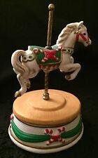 Christmas Carousel Horse Music Box, San Francisco Music Box Company