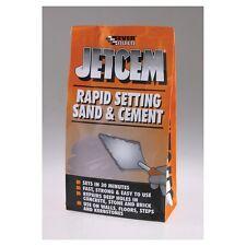 Everbuild 6kg jetcem premiscela sabbia e cemento