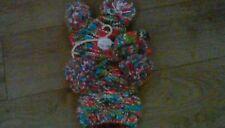 BABY GIRLS NEXT WINTER pom pom hat scarf and mitts 3 part set 3-9 months bnwt
