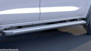 TOYOTA FORTUNER SIDE STEPS PAIR FROM AUG 15> GX GXL CRUSADE GENUINE ACCESSORY