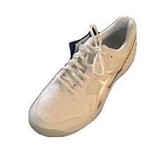 NWT!  ASICS GEL-Dedicate 6 Men's Sneakers Size 10.5 White Silver