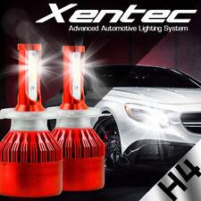 XENTEC H4 9003 LED Headlight Bulb 1000W 150000LM 6000K Hi/Lo Beam Kit High Power