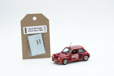 MaxiCollection decal Renault 5 Turbo Presentation Dijon 1980 1/43 scale