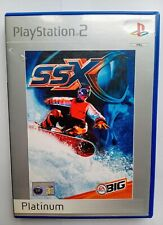 SSX Snowboard Platinum (Sony Playstation 2, Ps2, 2000) VGC Complete Action Game