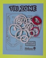 1979 Williams Tri Zone pinball rubber ring kit