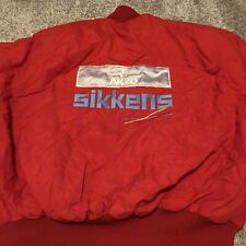 Vintage 90s Lunati Cams Cranks AKZO Nobel Sikkens Jacket XL Winter Jacket Coat