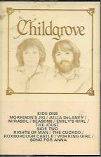 CHILDGROVE - Rare 1981 Christian Folk Cassette - Sonrise Canada Tested Mint