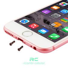 Coppia Viti  2 Viti Torx Pentalobo Inferiori iPhone 6 6s 7 8 plus Rose Gold