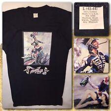 Vtg 1975 ROYAL FLASH movie Malcolm McDowell flashman Fox Studios NOS T-Shirt L
