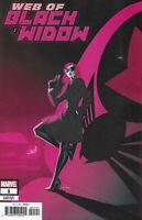 Web of Black Widow Comic 1 Cover B Kris Anka Variant 2019 Houser Mooney Marvel