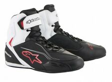Motorcycle Shoes Alpinestars Faster 3 Color: Black/White/Red Size: 10=(43)