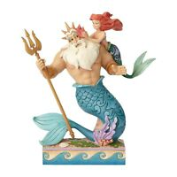 Enesco Disney Traditions Little Mermaid Daddy's Little Princess 10 Inch Figure