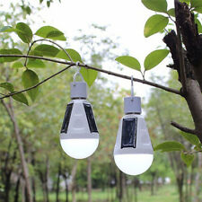 E27 7W Waterproof Solar Rotatable Outdoor Garden Camping Hanging LED Light Lamp