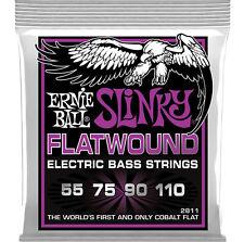 Ernie Ball 2811 Cobalt Lisce Power Slinky 4 - Corda Corde Per Basso 55 - 110