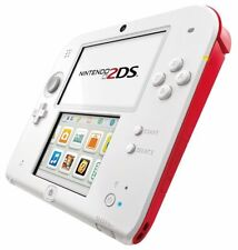 Nintendo 2DS Red White Hand Held Game Console Spielen Internet Photo Video