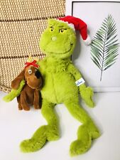 Dr. Seuss The Grinch with Max Plush Manhattan Toy Company 2018 Christmas Retired