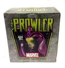 """MARVEL COMICS Bowen Classic 70's Spiderman cattivo PROWLER 7 """"STATUA BUSTO Figura"""