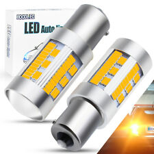 2x 1156 BAU15S PY21W LED 105SMD CANBUS Amber Turn Signal Light Tail Reverse Lamp