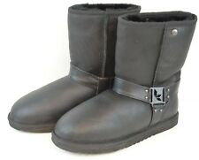 New Women's Size 7 Koolaburra By UGG Leather Boot Sheep Skin Boots