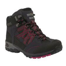 Chaussures et bottes de randonnée noirs Regatta