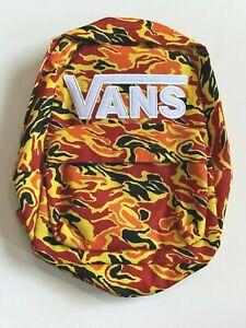 Vans New New Skool Flame Camo Backpack Youth Boys OSFA