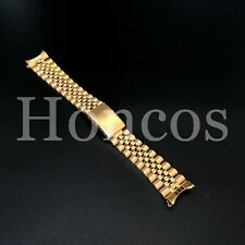 19MM YELLOW GOLD JUBILEE BAND STRAP BRACELET FOR TUDOR PRINCE OYSTERDATE