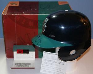ALEX RODRIGUEZ autograph/auto/signed full size batting helmet UDA Upper Deck