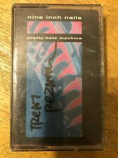 Nine Inch Nails cassette Pretty Hate Machine signed by Trent Reznor