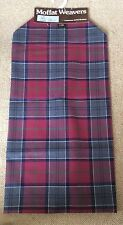 "Moffat Weavers Scotland 1 Yard Tartan Kilt Plaid Fabric Skirt Length 59"" UK"