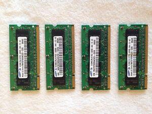 (4)  Samsung 512MB PC2-4200S-444-12-A3 (M470T6554CZ3-CD5)