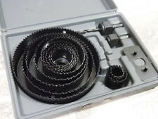 NEW  Hole Saw Kit 16 Pieces 3/4?-5? Full Set In Case With Mandrels And Install