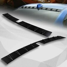 For 2015-2020 Subaru WRX STI Black Shark Fin Rear Roof Vortex Spoiler Wing