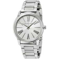 Michael Kors Women's Hartman Silver Tone Stainless Steel 38mm Watch MK3489