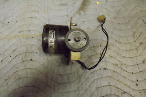 WURLITZER JUKEBOX TURNTABLE MOTOR--WORKS