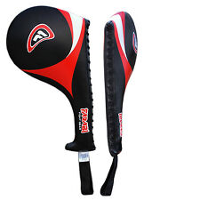 Farabi Taekwondo TKD paddle Racket Hand Karate Kick Boxing Strike Pad X 1