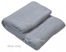 Soft premium combed Thermal Throw/Blanket For Sofa Couch, Bedroom 100% cotton