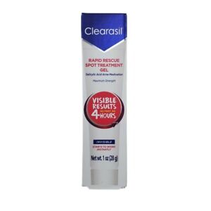 Acne Treatment Clearasil Ultra Rapid Rescue Spot Treatment Gel 1 oz New in box