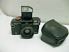 Agfa Optima Sensor Electronic Film Camera Flash 40mm Lens Point Shot Paratronic