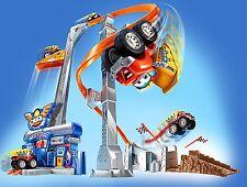 Nouveau hasbro tonka chuck & friends twist trax tornado tower toy 3+