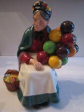 "Royal Doulton ""Old Balloon Seller"" Hn 1315 - Mint Condition - 7 1/2"" Tall"