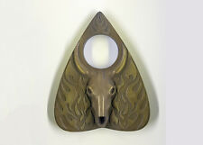 Planchette with Baphomet design in Metallic Gold Finish For Use With Ouija Board