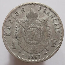 1 Franc 1867 BB (France) Silver