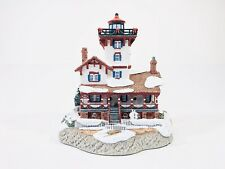Harbour Lights Christmas 2000 Hereford Inlet New Jersey Resin Lighthouse