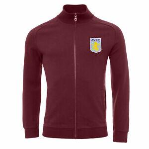 Aston Villa Mens Supporter Track Jacket - RRP £55 - NOW £29.99