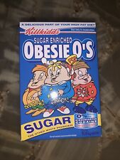"Obesie O's  3 "" Ron English Cereal Killer Brand New In Box And Signed By Ron"