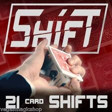 Shift DVD - Learn & Master the Most 21 Amazing Card Moves Ever - Knowledge=Power