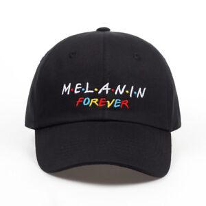 New arrival MELANIN forever letter embroidery baseball cap women Adjustable