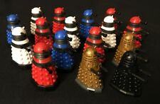 Lot of 16 Doctor Who Character Building Dalek Micro-figures - Dalek Sec