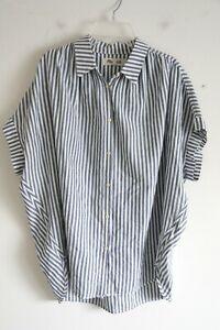 Madewell Striped Courier Shirt - Size Medium